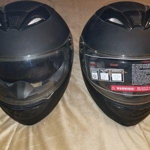 TMS Motorcycle Helmet(s) 1 - XL -  1 - XXL